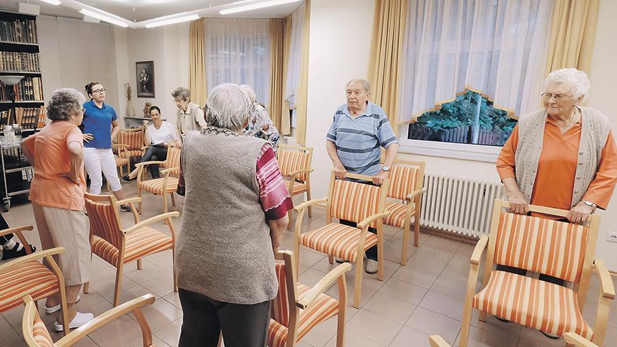 Дом престарелых в Харькове
