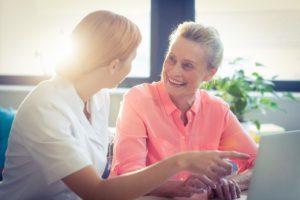 Услугт дома престарелых