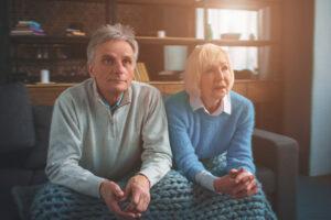 пожилые люди в пансионате Вилла Добра