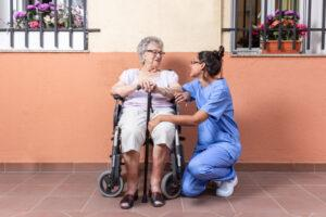 гериатрический пансионат «Вилла Добра», услуги сиделки, реабилитация после инсульта